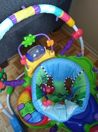Exersaucer - will accept best offer today if you pick up in LaSalle  MONTREAL