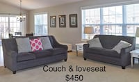 Couch and loveseat - dark gray La Grange, 60525