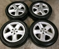 Acura rims and tires all-season  Toronto, M6L 1A4
