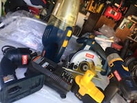 two black and yellow DeWalt cordless power tools Palmdale, 93550