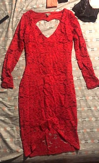 Xs Red floral lace dress  New Bedford, 02744