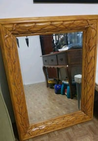 Mirror with Wooden frame Manassas