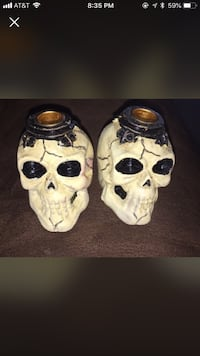 3 inch Halloween candle holders  Jacksonville, 32244