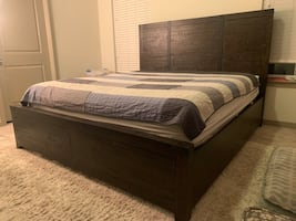 Almost New King Size Bedroom Furniture
