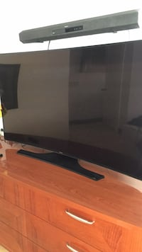 "55"" Curved Samsung TV 2056 mi"