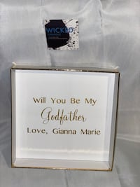 Personalized gifts . 8x8 Bridesmaids proposal, god parents proposals, asking boxes, custom boxes, gift box Vaughan