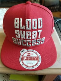 Brand new blood sweat success reflective hat