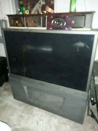 black and gray rear projection television Middleburg, 32068