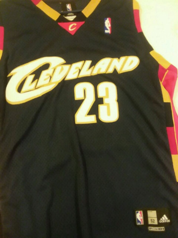 LeBron James stiched jersey