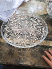 Antique crystal large tray  Hamilton, L9A 1T3