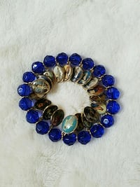 Saints Religious Blue bead bracelet  Halethorpe, 21227