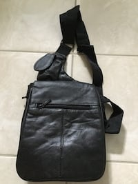 New leather crossbody bag