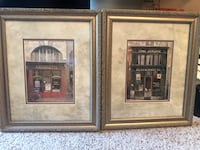 two brown wooden framed painting of house Loganville, 30052