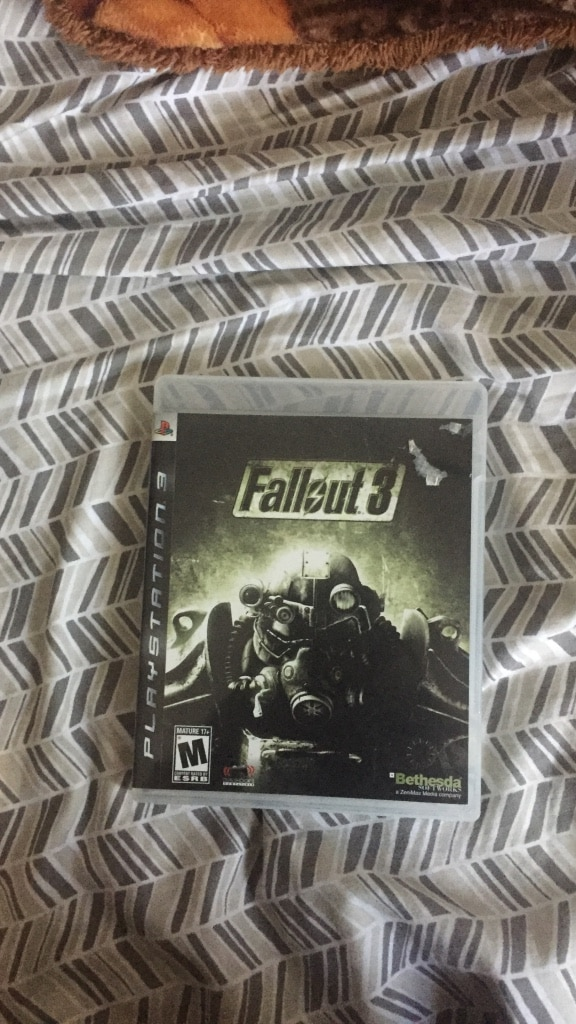 Fallout 3 Sony PS3 game case