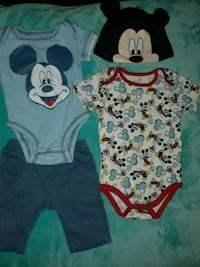 New Disney baby clothes 3-6 months Reno, 89512