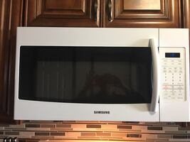 Microwave, Cooktop & oven, Dishwasher ( white, perfectly working)