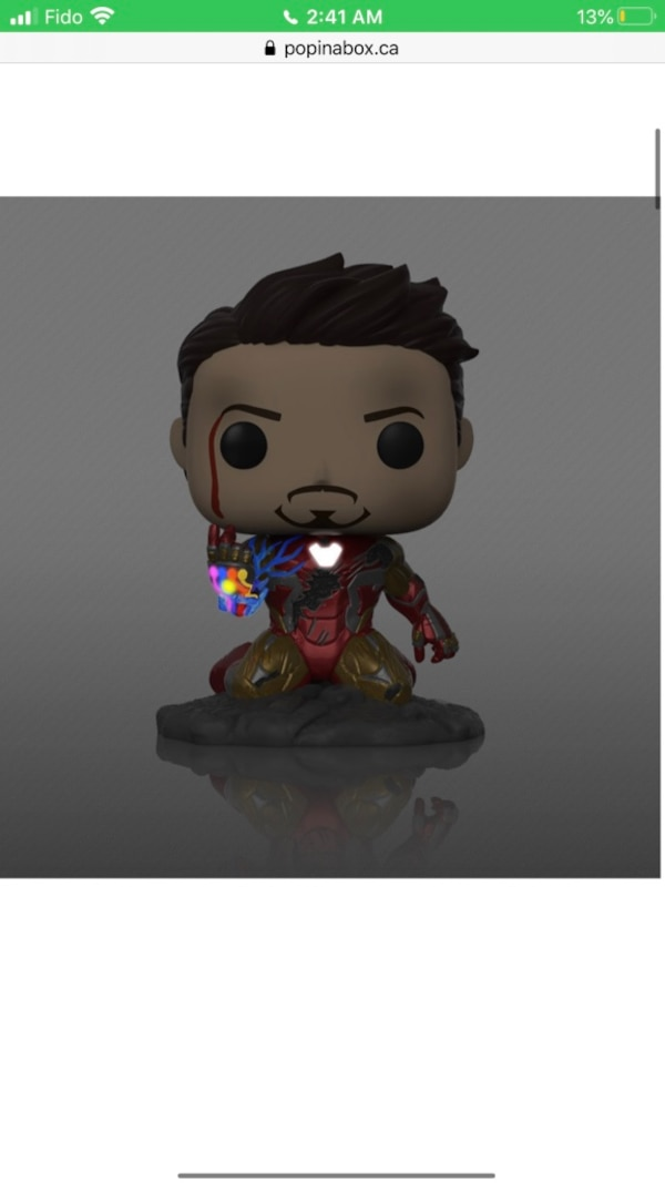Iron man Funko POP 0