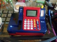 blue and red cash register toy Alexandria, 22305