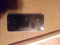 Silver and Black Damaged iPhone 5S