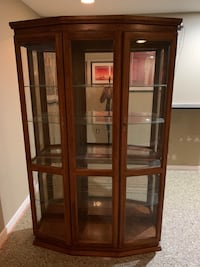 Solid Wood Curio Cabinet Temple Hills, 20748