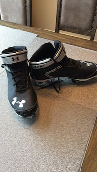Reduced: Size 13 UA Football Cleats