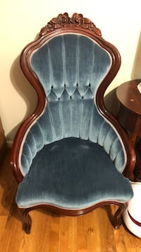 A pair of elegant blue chairs selling for $125 Springfield, 22150
