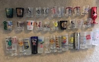Shot Glasses collection Moving sale, yard sale Bethesda, 20817