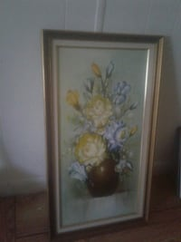 Vintage oil painting on Canvas,29 hinches Lake Worth, 33463