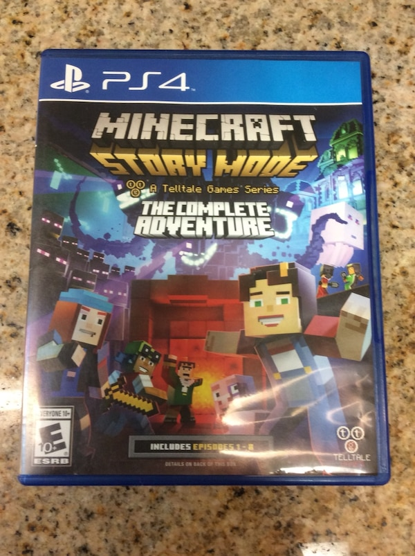 PS4 Game: Minecraft Story Mode The Complete Adventure