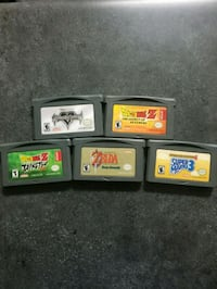 GBA games for sale Ontario, 91764