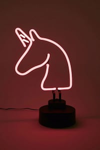 Pink Neon Unicorn Light  Hamilton, L9A 2L5