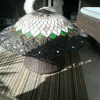 Large lamp shade great for front doorways  Kelowna, V1X 4A6