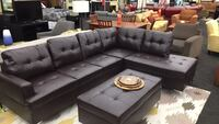 Brand New Brown Sectional w/ Ottoman  Norfolk, 23502