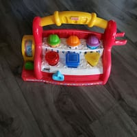 toddler's red and yellow plastic toy car Brampton, L6S 1X5