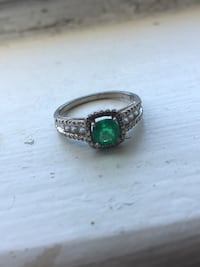 Silver Emerald Ring Norfolk, 23503