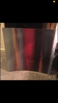 Abstract wall decor