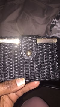 New small black female wallet. Chesapeake, 23323