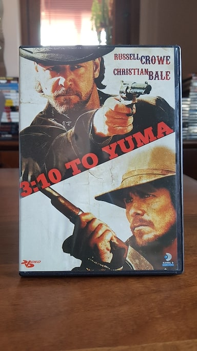 3:10 Treni (3:10 to Yuma) DVD * Russell Crowe, Christian Bale 75c43133-55c0-42e9-8614-a432bc94053a