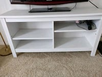 White tv stand with shelves Buena Park, 90620