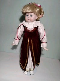 girl in white and red dress doll Washington, 20019