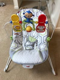 Fisher price baby bouncer 雷斯顿, 20191