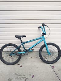 Blue and black bmx bike Sherwood Park, T8A 6C7