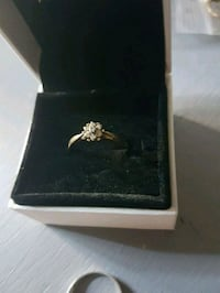 Gorgeous 18kt gold diamond engagement ring Whitby, L1N 8X2