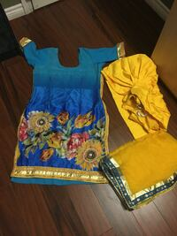Very beautiful Indian suit worn only 1 hour very gud condition 10/10 Brampton, L6R 1X1
