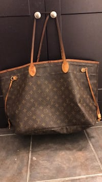brown Louis Vuitton leather tote bag Encinitas, 92024