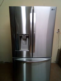 stainless steel french door refrigerator Maumelle