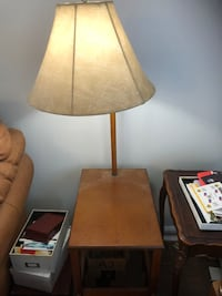 Side table with lamp Alexandria, 22308