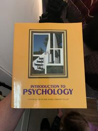 Introduction to psycology AACC text book Millersville, 21108
