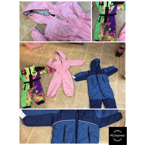 4ca45005e Used Toddler girl boy snow suits for sale in Dublin - letgo