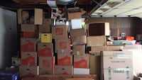 Moving Boxes - Store bought at half price, others free San Diego, 92117